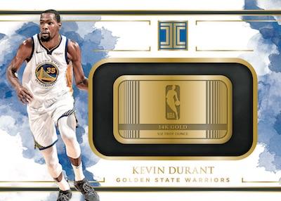 Gold NBA Logo Kevin Durrant