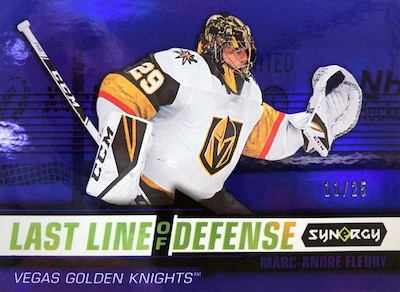 Last Line of Defense Marc-Andre Fleury