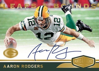 Leaps and Bounds Gold Aaron Rodgers