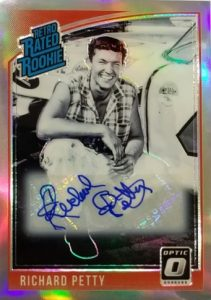 Optic Signatures Holo Retro Rated Rookie Richard Petty