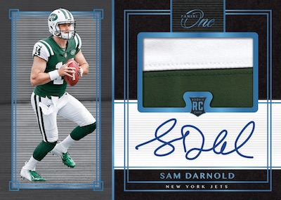 Premium Rookie Patch Auto Sam Darnold