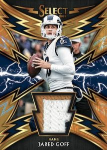 Sparks Relic Prizm Gold Jared Goff