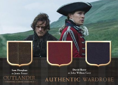 Triple Relics Sam Heughan, David Berry