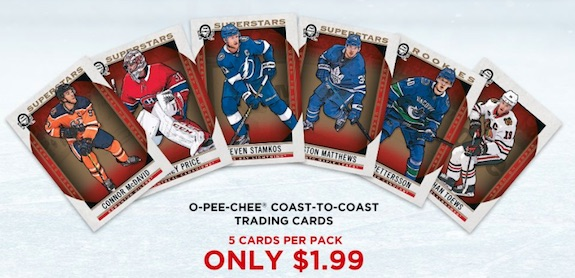 2018-19 OPC Coast to Coast Canadian Tire