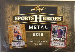 2018 Leaf Sport Metal Heroes