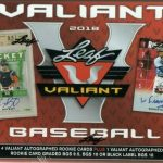 2018 Leaf Valiant Baseball