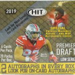 2019 Sage Hit Premier Draft Low Series Football