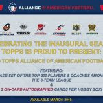 2019 Topps Alliance of American Football AAF