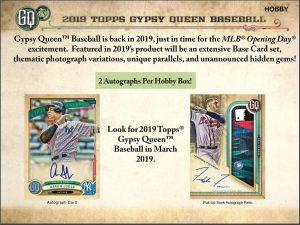 2019 Topps Gypsy Queen Baseball