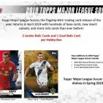 2019 Topps MLS Major League Soccer