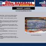 2019 Topps Opening Day
