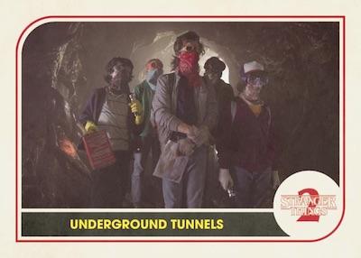Base Underground Tunnels