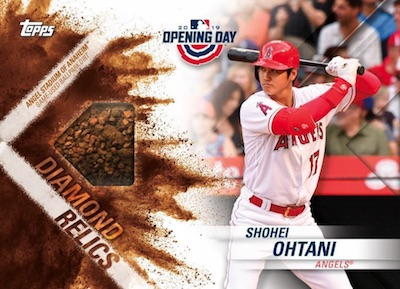 Diamond Dirt Relics Shohei Ohtani