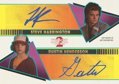 Dual Auto Steve Harrington, Dustin Henderson