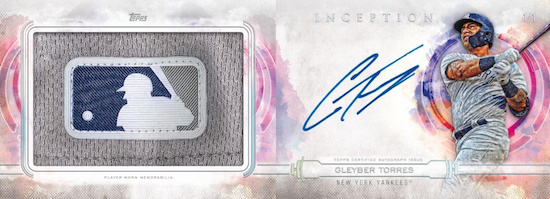 Inception Auto MLB Logo Book Gleyber Torres