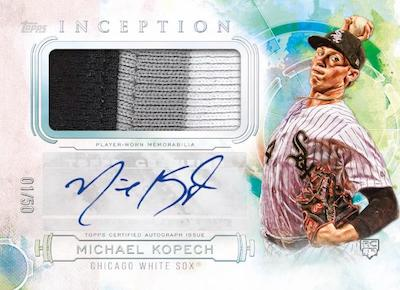 Inception Auto Patch Michael Kopech