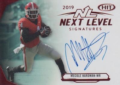 Next Level Signatures Mecole Hardman