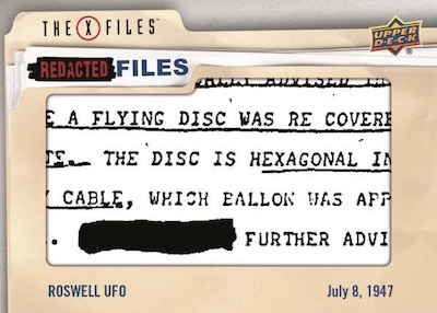 Redacted Files Roswell
