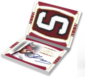 Rookie Jumbo Prime Signatures Booklet Vertical Variation Josh Rosen MOCK UP