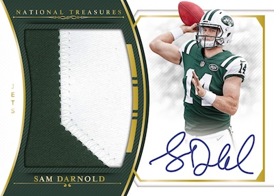 Rookie Material Signatures RPS Sam Darnold MOCK UP