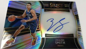 Rookie Signatures Zhaire Smith