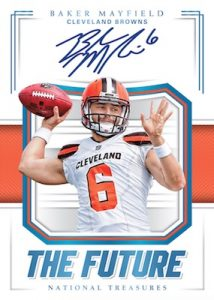 The Future Autographs Baker Mayfield MOCK UP