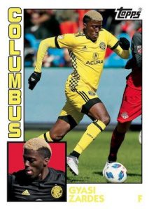 Throwback Topps Gyasi Zardes