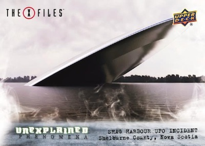 Unexplained Phenomena Shad Harbour UFO Incident