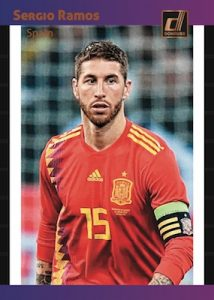 1989 Donruss Tribute Sergio Ramos