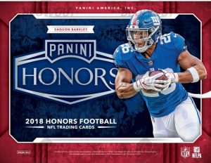 2018 Panini Honors Football