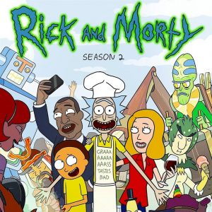 2019 Cryptozoic Rick and Morty Season 2