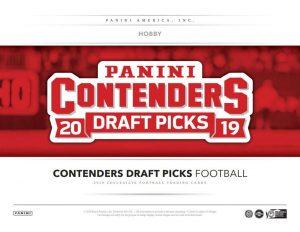 2019 Panini Contenders Draft Picks Football