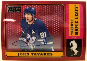 Base Retro Auto John Tavares