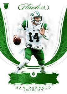 Base Rookie Emerald Sam Darnold