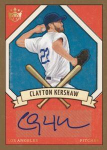 DK 205 Signatures Clayton Kershaw
