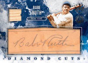 Diamond Cuts Materials Maserpiece Babe Ruth