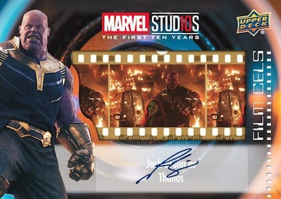 Film Cel Manufactured Relic Auto Thanos
