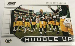 Huddle Up Green Bay Packers