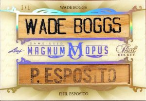 Magnum Opus Wade Boggs, Phil Esposito