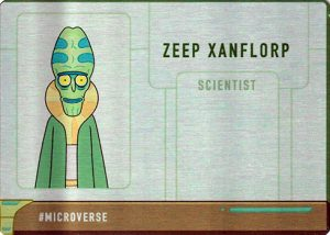 Metal Cards Zeep Xanflorp