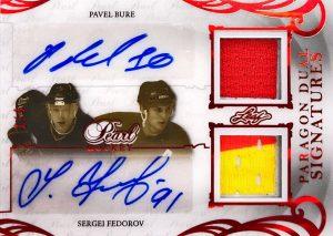 Paragon Dual Signatures Pavel Bure, Sergei Fedorov
