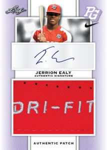 Patch Auto Jerrion Ealy