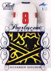 Pearlescent Patch Alexander Ovechkin