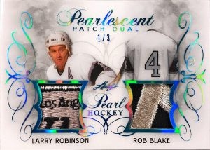 Pearlescent Patch Dual Larry Robinson, Rob Blake