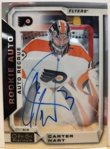 Rookie Autos Carter Hart