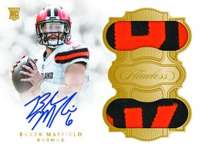 Rookie Dual Patch Auto Baker Mayfield