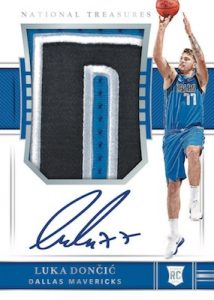 Rookie Patch Auto Luka Doncic