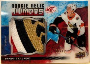 Rookie Relic Jumbo Brady Tkachuk