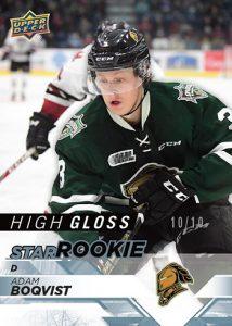 Star Rookie High Gloss Adam Boqvist