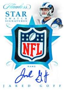 Star Swatch Signatures Jared Goff